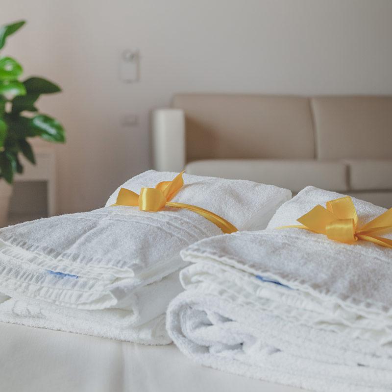 asciugamani camera